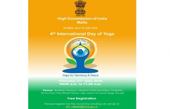 4th INTERNATIONAL DAY OF YOGA 2018