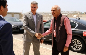 Minister of State for External Affairs H. E. Mr. M. J. Akbar visits Malta  8-10 July 2018