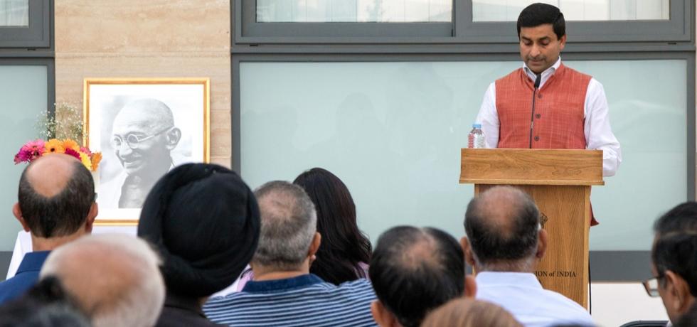 Celebrations of 150th Birth Anniversary Year of Mahatma Gandhi in Malta