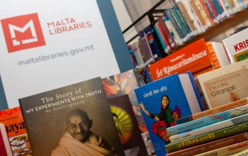 India Corners at Malta Libraries