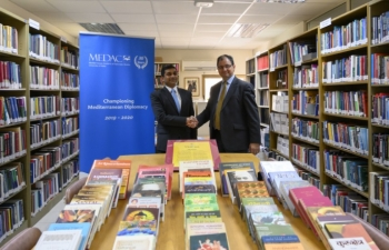 High Commissioner visits MEDAC