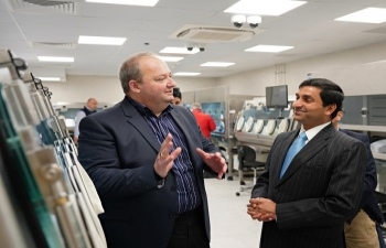 High Commissioner visits Aurobindo Pharma Malta