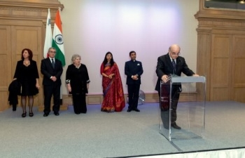 71st Republic Day reception hosted by H.E. High Commissioner of India Mr. Rajesh Vaishnaw in Malta