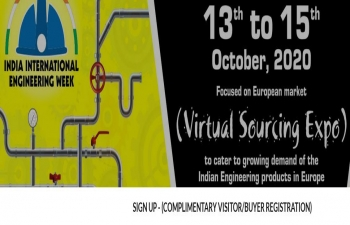 Virtual Sourcing Expo - INDIA INTERNATIONAL ENGINEERING WEEK, by FIEO : 13-15 Oct 2020
