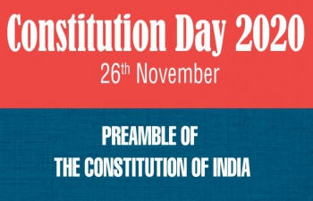Constitution Day of India - 26 November