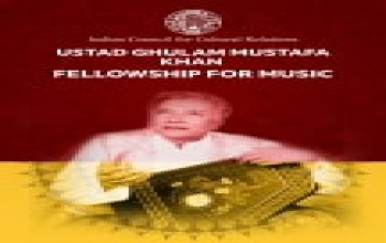 Ustad Ghulam Mustafa Khan Fellowship for Music